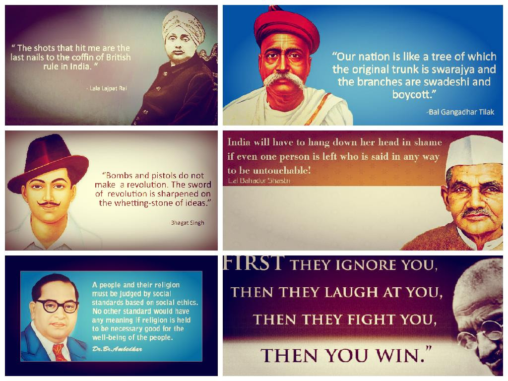 13 Inspiring Quotes Of Indias Freedom Fighters