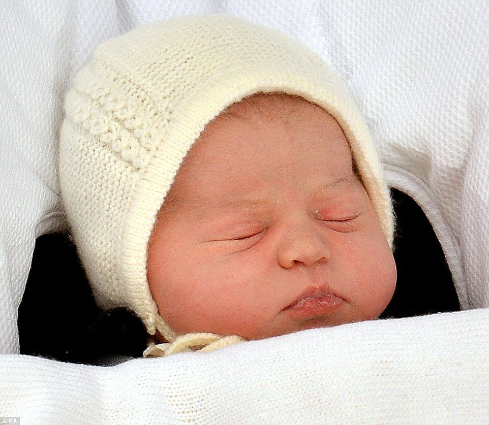 After days of speculation, the name of the Princess of Cambridge has finally been revealed to the world as Charlotte Elizabeth Diana