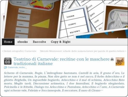 http://www.lapappadolce.net/teatrino-di-carnevale-con-le-maschere-tradizionali-italiane/