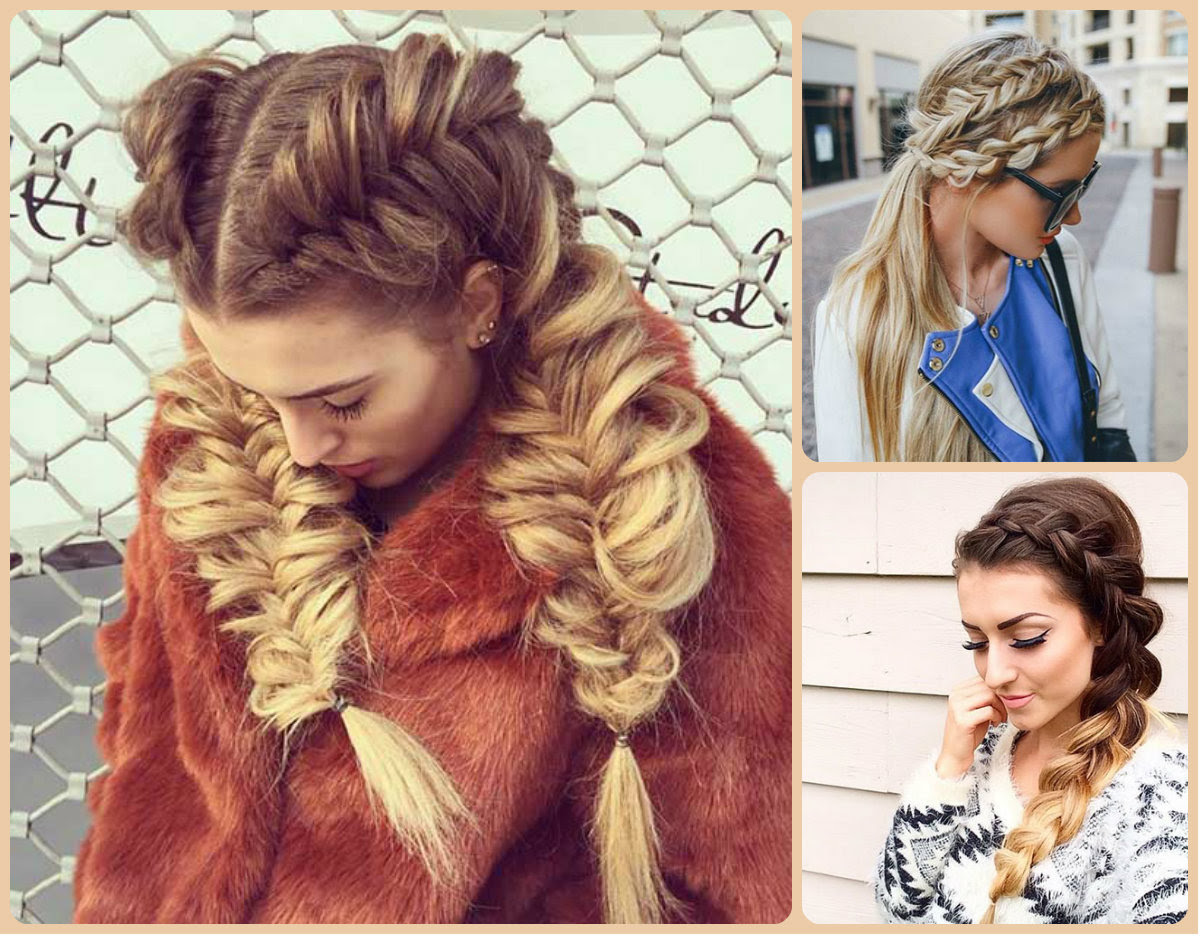 Modern Amp Classy French Braids Hairstyles Long Hairstyles