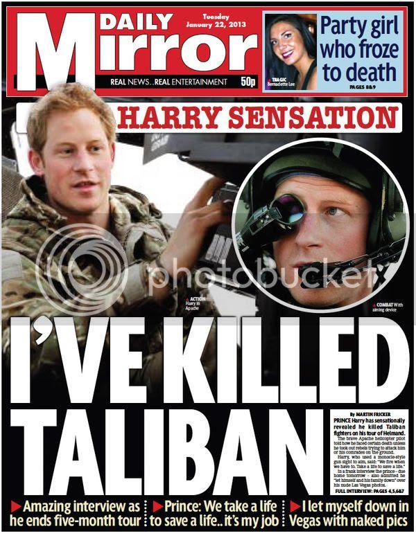 Harry Killed Taliban