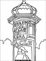 Dessin Monument France Coloriage Arc De Triomphe