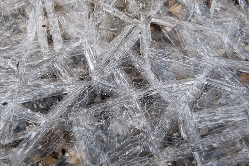 Geometric Ice Crystals Photograph Well