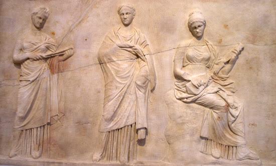 Mitología griega: musas