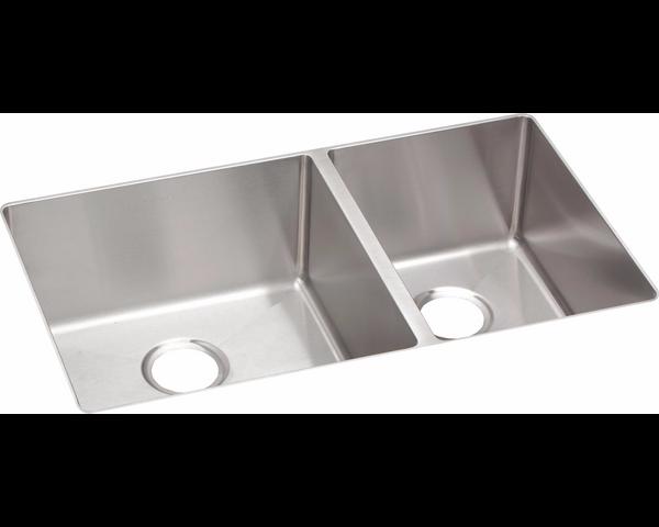 Elkay Crosstown Stainless Steel 31 12 6040 Double Bowl Undermount Sink