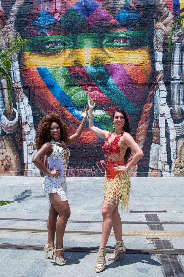 Mishel Finlayson e Luana Bandeira (Foto: Divulgação/Eduardo Hollanda)