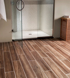 Wood-Look Porcelain Tiles - Tile Lines