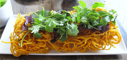 fried sweet potatoes, Red Medicine