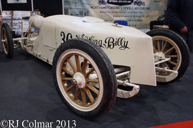 White Whistling Billy, Race Retro, Stoneleigh