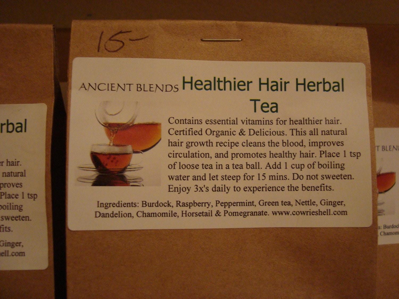 Ancient Blends Healthy Herbal Hair Tea (DRINK)