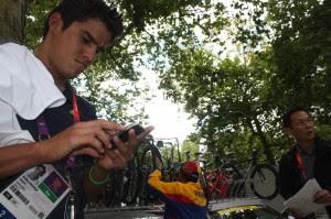 El ciclista Andrey Amador es el 121 del mundo