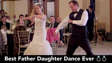 BEST Father Daughter Wedding Dance EVER! You gotta see it