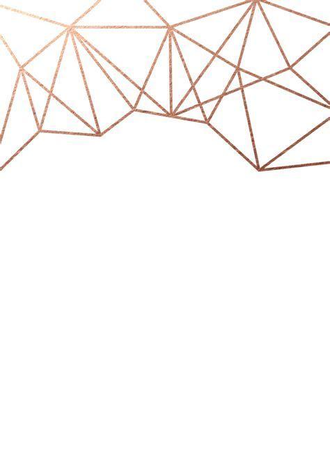 Geometric Wedding Invitations   The Foil Invite Company