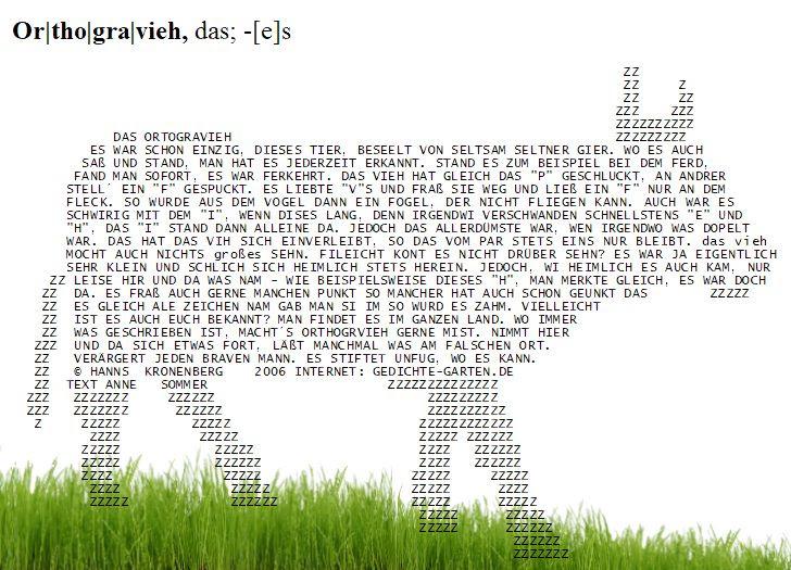 Gartenbank Gedicht