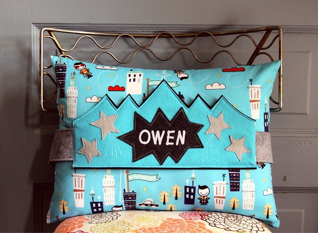 Owen Birthday Crown and Pillow Set