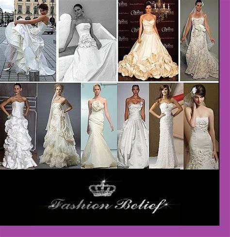 different types wedding dresses   Fashion Belief