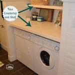 How-To Revamp a Laundry Room / Mud Room on a Budget - The Happy Housie