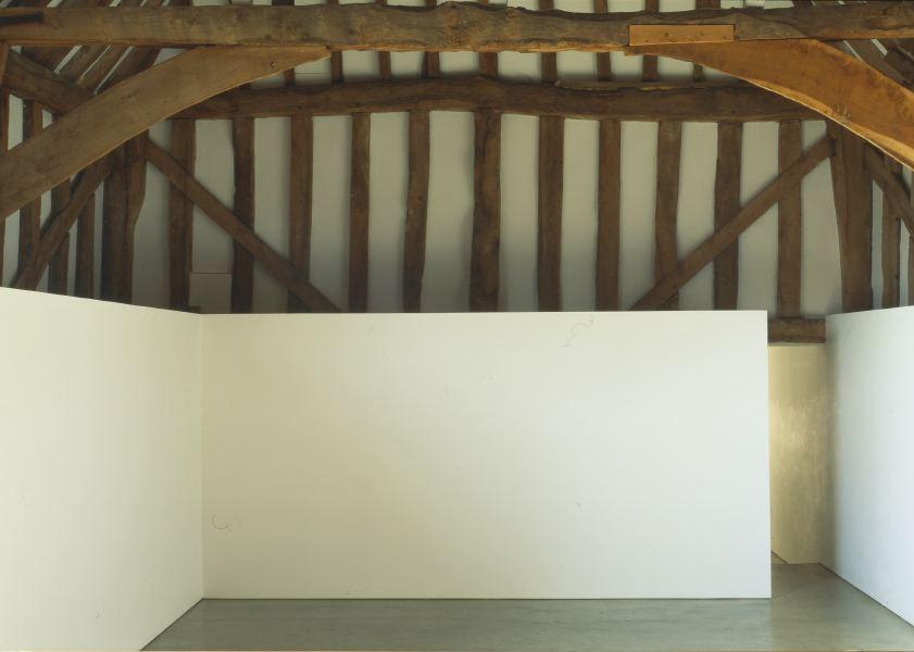 conversion of historic barn into a minimalist single storey house