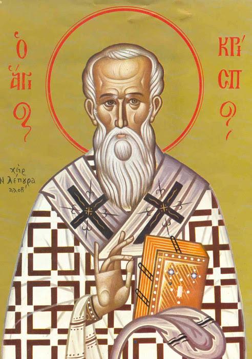 IMG ST. CRISPUS, Apostle of the Seventy, Bishop of Chalcedon