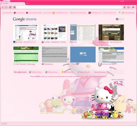 Hello Kitty Google Chrome Themes   Auto Design Tech