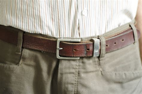 wear  belt  young men  steps  pictures