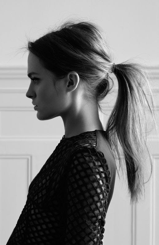 LE FASHION BLOG BEAUTY HAIR POST HIGH MESSY PONYTAIL WITH BUMP MARIO SCHWAB MESH TOP OPEN KNIT SWEATER PHOTOGRAPHER OLIVIA BEASLEY HAIR INSPIRATION 1 photo LEFASHIONBLOGBEAUTYHAIRPOSTMESSYPONYTAILMARIOSCHWABOLIVIABEASLEY1.jpg