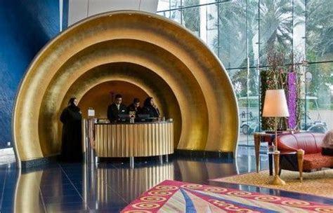 Reception Desk in Burj Al Arab Hotel   Heartland Visual
