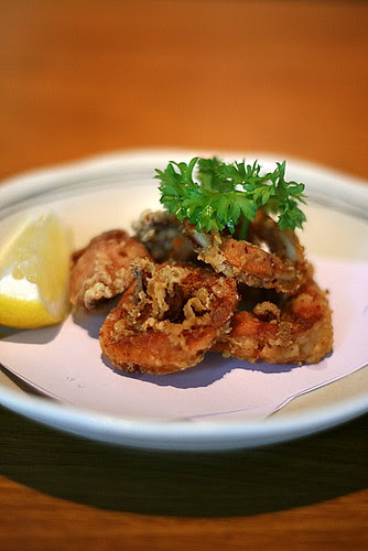 Ika Tatsuta Age - Deep-fried Marinated Squid