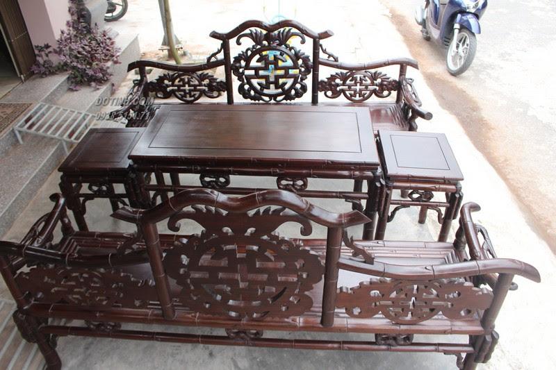 Ra mắt sản phẩm bàn ghế trường kỷ Huế đẹp Đỗ Tĩnh