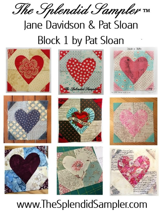 1 Splendid Sampler Pat Sloan Block multi