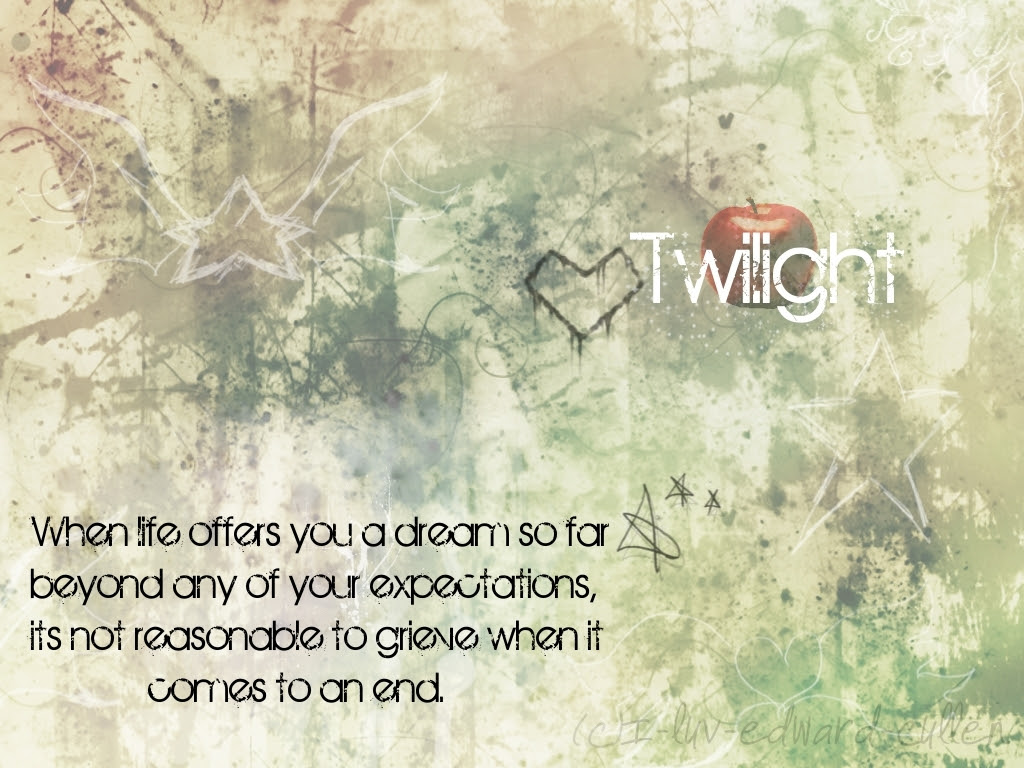 Backgrounds Twilight Quotes Wallpaper 4807620 Fanpop