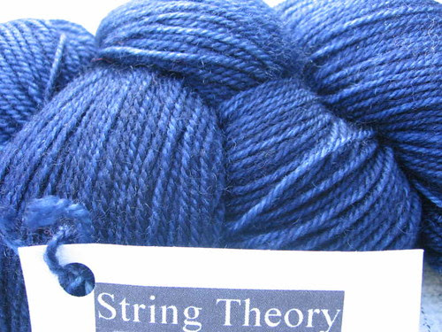 String Theory Bluestocking
