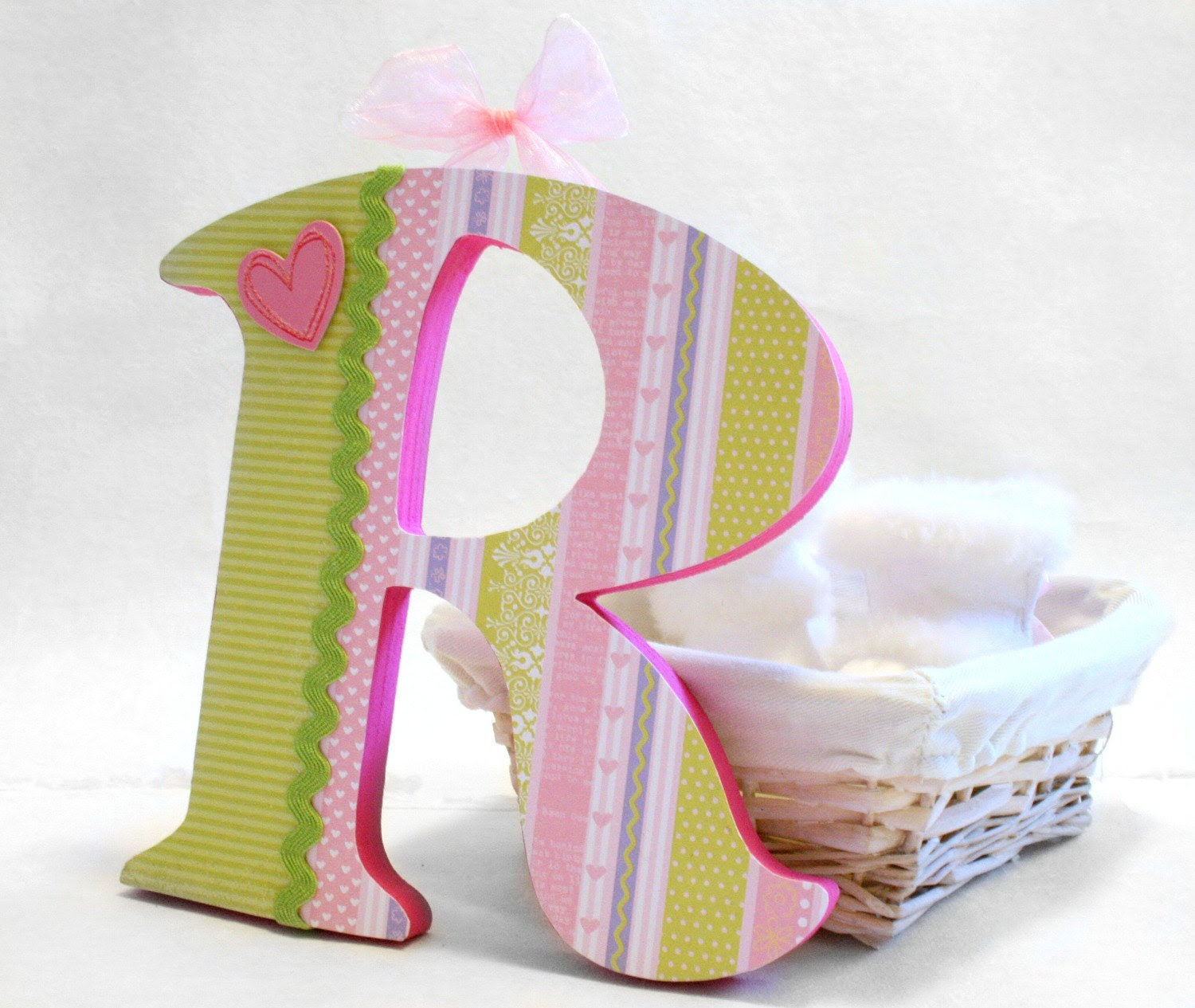 Set of 2 letters baby name design your own by RivergroveDesigns