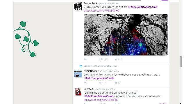 Gustavo Cerati Cumple 55 Anos Y Sus Seguidores Celebran En Twitter