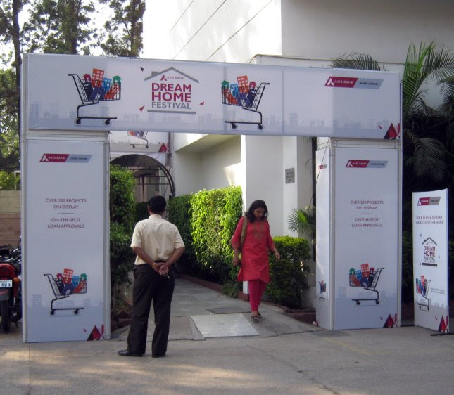 Axis Bank Dream Home Festival 18th & 19th March 2012 at Hotel Pride, University Road, ShivajiNagar, Pune 411 005 - 2