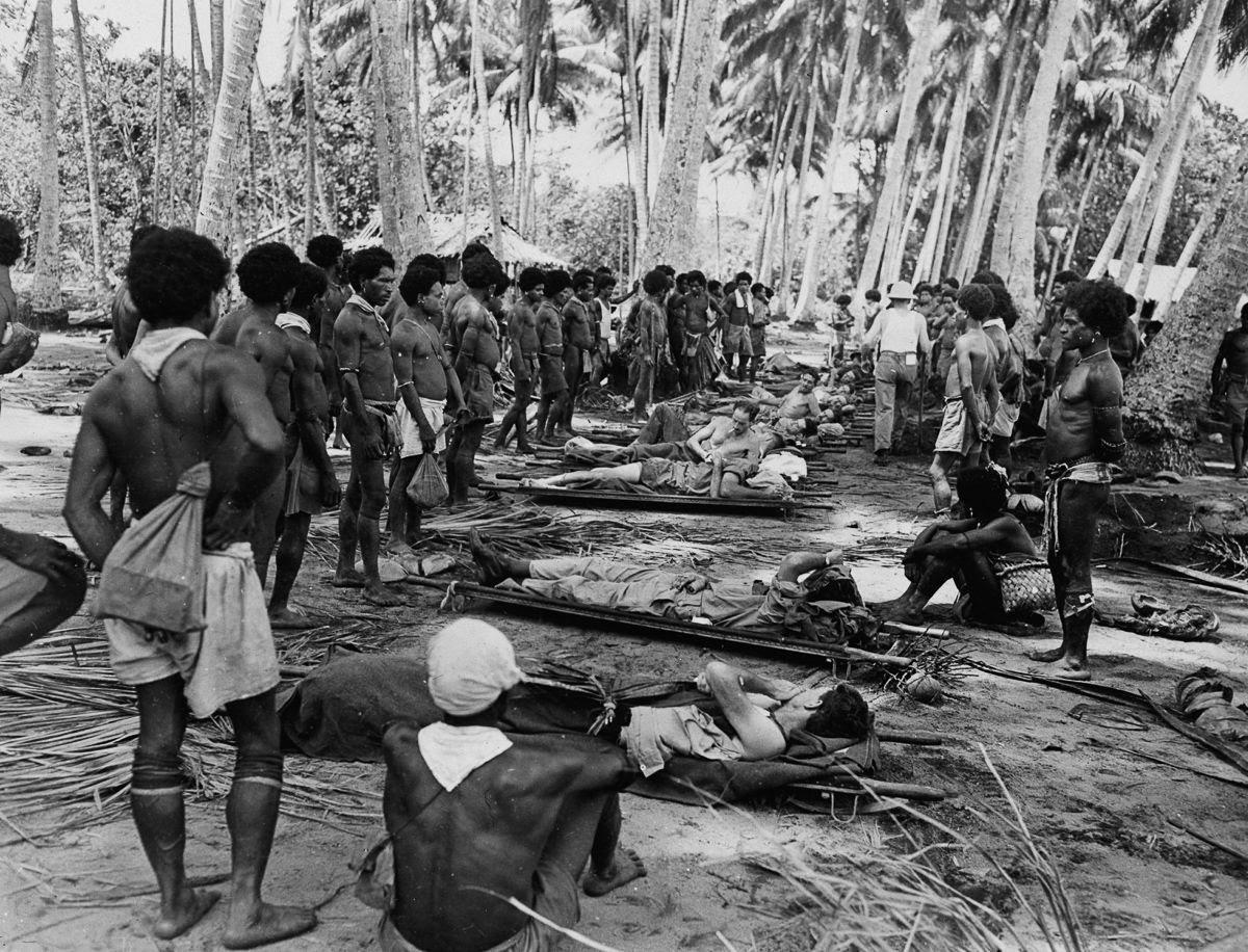 Os povos indígenas de Papua Nova Guiné salvaram centenas de soldados feridos na Segunda Guerra Mundial 07