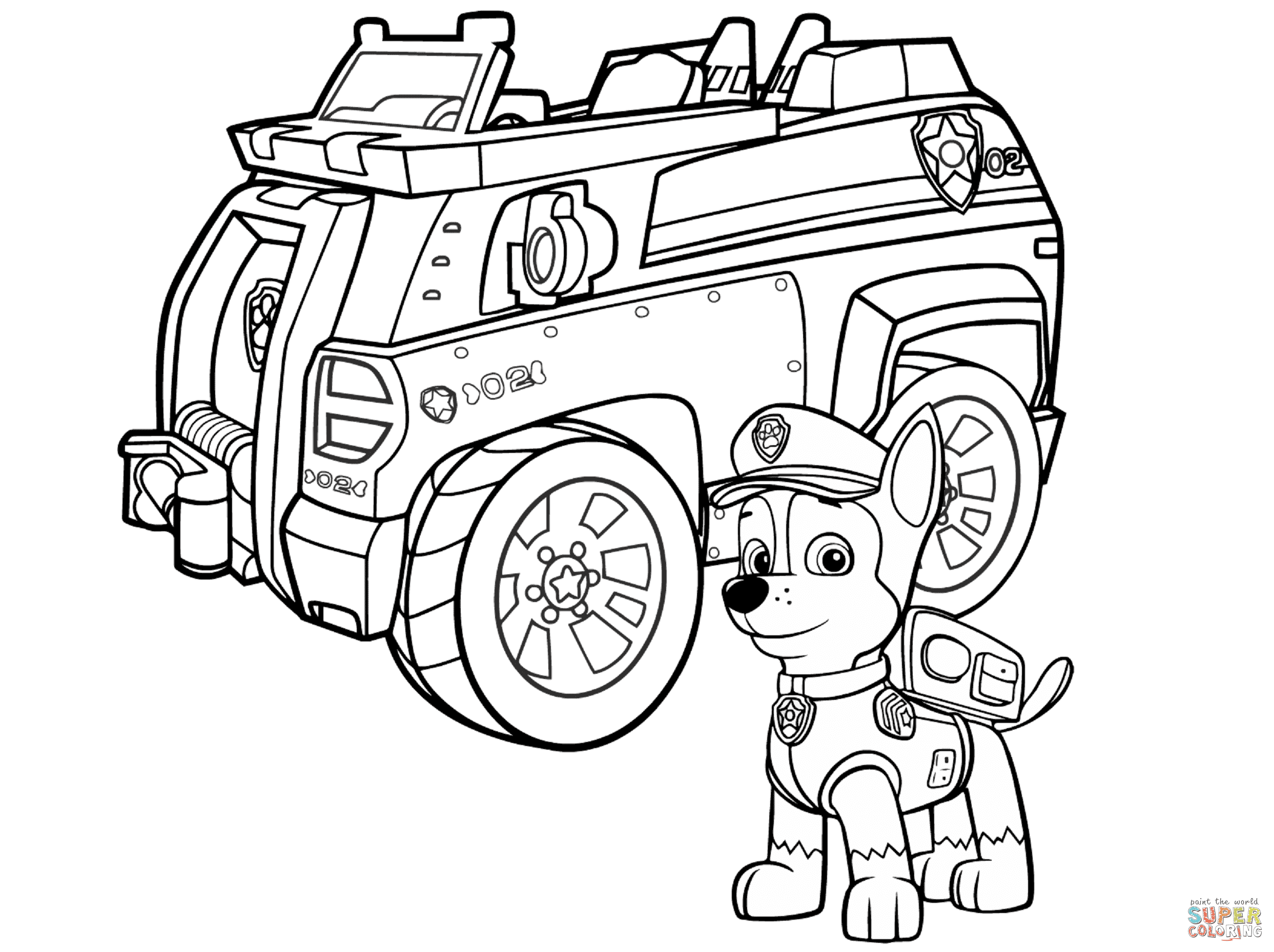 Paw Patrol Chase Police Car