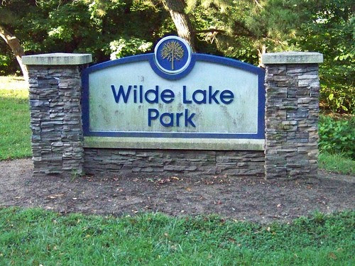 wilde lake sign