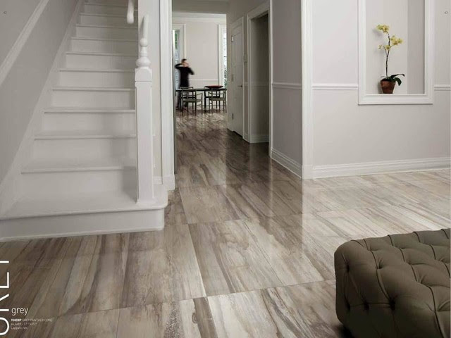 Kauri Petrified Wood Look Porcelain Tile - modern - floor tiles ...