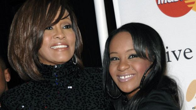 BOBBI KRISTINA BROWN, DAUGHTER OF LATE SINGER WHITNEY HOUSTON, HAS DIED AGED 22. | UDAKU WA DUNIA