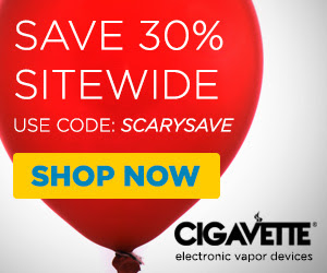 Save 30% Off All CIGAVETTE Vapor Products