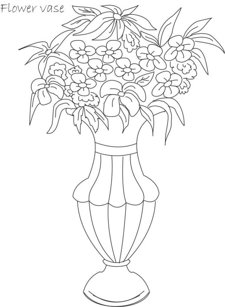 Free Flower Pot Coloring Page Download Free Clip Art Free Clip Art On Clipart Library