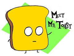 Meet Mr Toast shirt design
