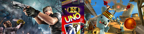Resident evil 4 uno rayman wii