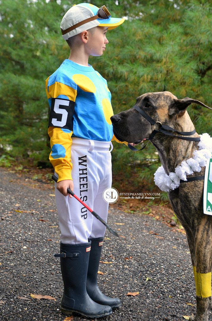Jockey And Race Horse Costume Homemade Coordinating Halloween