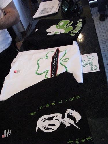 O'Rourke's t-shirts