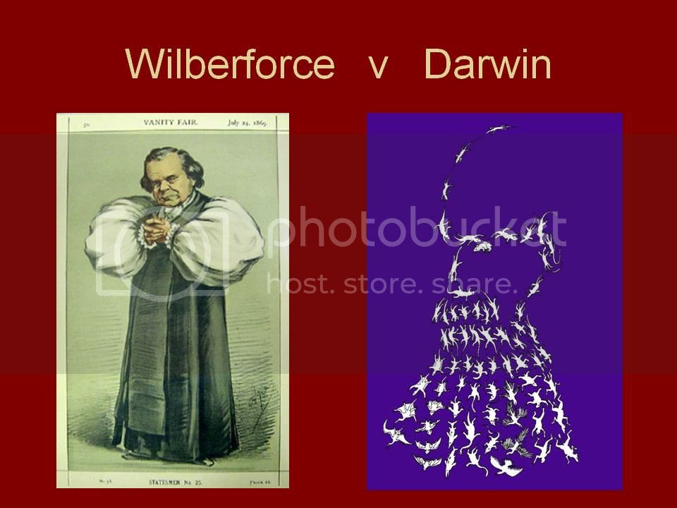 'Wilberforce v Darwin'