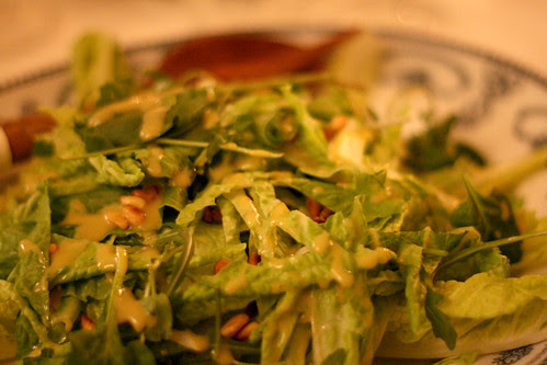 Pinenut salad