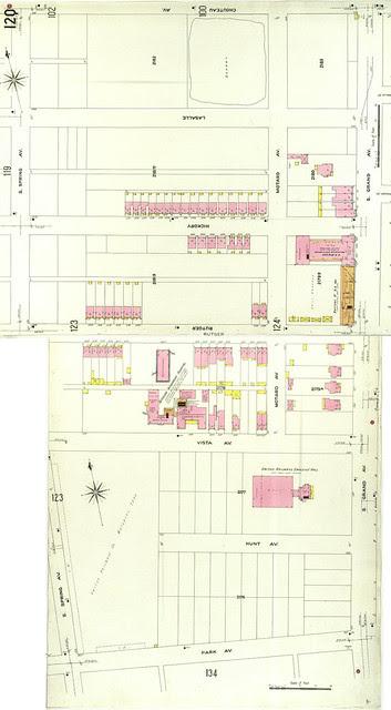 Hickory-Rutger Context 1909 Sanborn