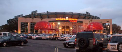 Angel Stadium of Anaheim.